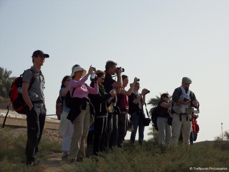 Beim Fotografieren :-) ¦ Studienreise nach Ägypten (2009 & 2011)