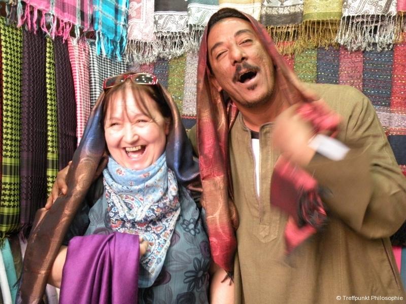 Beim Feilschen :-) ¦ Studienreise nach Ägypten (2009 & 2011)