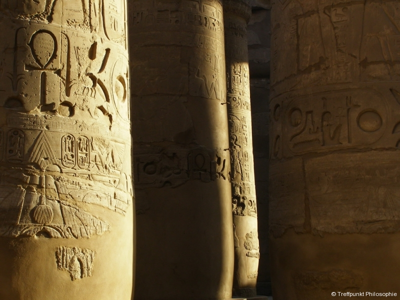 Säule im Karnak-Tempel ¦ Studienreise nach Ägypten (2009 & 2011)