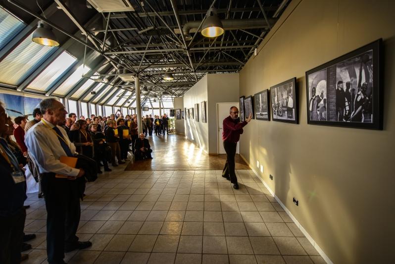 Photoausstellung zur Eröffnung ¦  Platon Kongress in Marseille 2013. Anlässlich 2400 Jahre Platonische Akademie.