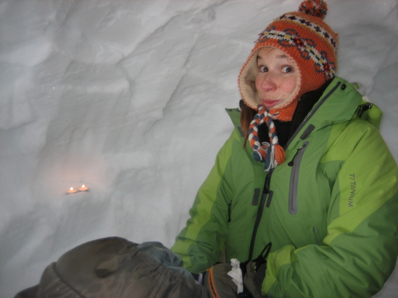 Erster Test: Es hält aber kalt ists trotzdem :-) ¦ Praktische Trainings und Ausbildungen