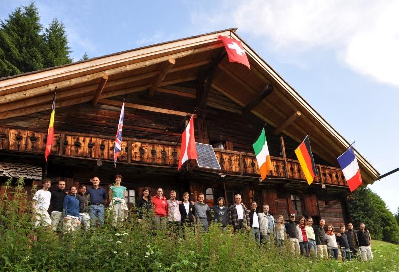 Chalet in den Bergen von Champéry ¦ Praktische Philosophie in der Natur